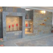 Piedra Natural Oxido 30 X Largo Libre Exterior / Interior