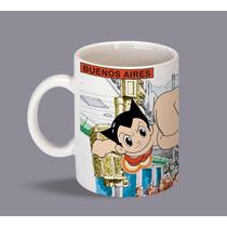 Astroboy En Buenos Aires Taza Coleccion Comic Manga Serie Tv