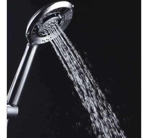 Ducha Cromada De Mano 4 Funciones Premium 5021d Aquaflex