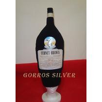 Botella De Fernet - Gorro Cotillon De Goma Espuma