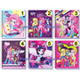 Cuaderno Equestria Girl My Little Pony 100 Hojas+35 Stickers