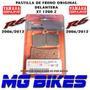 Pastillas Freno Yamaha Del R6 Xt 1200 Z Original Mg Bikes