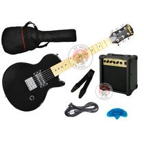 Combo Guitarra Electrica Texas Les Paul Niños Amplificador