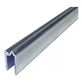 Perfil De Cierre Aluminio Xpro T175c 7mm Tapa Rack X 3mts.