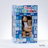 Dreidel De Madera 3 Cm