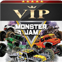 Entradas Monster Jam Popular + Pit Party Mercadolider Lujo!