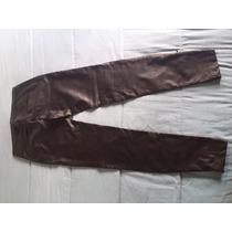 Pantalon Chupin Simil Cuero Importado Pull&bear
