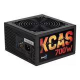 Fuente Pc Atx Aerocool Kcas-700w Kcas Series 220v Negra