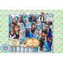Kit Imprimible Fondos Frozen 64 Diseños + Plantillas Moldes