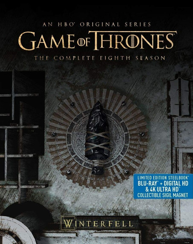 Game Of Thrones Temp 8 Limited Edition Steelbok 4k + Blu-ray