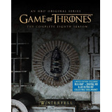 Game Of Thrones Temp 8 Limited Edition Steelbok 4k + Blu-ray