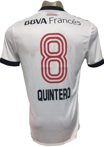 5faa0db56f8 Camiseta De River Plate Suplente Tricolor 2018 Quintero 8 en venta ...