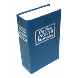 Caja Fuerte Simulada Libro Cofre Porta Valores 270x200x68mm