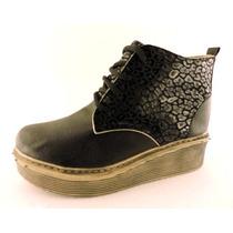 Zapatos Nenas Plataformas Birkens Abotinados Borcegos Botas