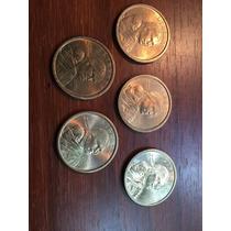 Robmar-lote De 5 Monedas De 1 Dolar Sacagawea- Usa,variados-