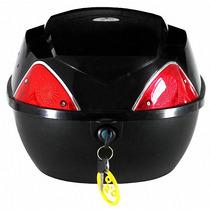 Baul P/ Un Casco Capacidad 34 Litros Negro P Bici O Moto Nsr