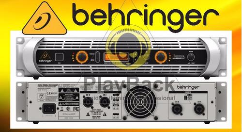 Potencia Inuke Nu3000 Con Dsp Behringer Para Dj  Sonido
