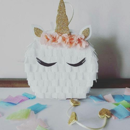 Mini Piñata Unicornio Souvenir Golosinero En Venta En