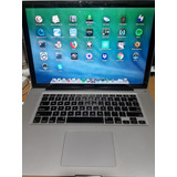 Macbook Pro 15 Pulg Mid 2012. I7 2,3 Ghz Ssd 120gb Ram 4 Gb