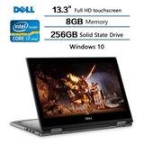 Notebook Ultrabook 2en1 Dell I7 Quad  8°gen 8gb Ssd256 13,3