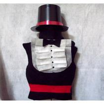 Disfraz De Caballero Pechera Pañolenci Y Galera Para Niños