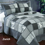 Cubrecama Quilt Cover Patchwork Queen Size 240 X 270 Cm