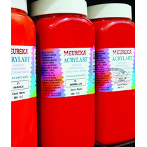 Acrilico Eureka Acrylart 650ml G1- Por 3 Unidades - One Art