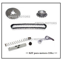 Kit Distribucion Tensores Cadena Guerrero Zanella Motos 110