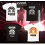 Remera Queen + Adam Lambert Argentina 2015 No Entradas Promo