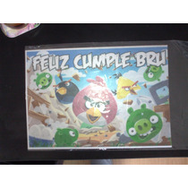 Lamina Comestible Personalizada Fototorta Angry Birds