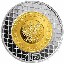 Chinacoins / Polonia 10 Zloty 2006 Y#754 Plata Proof World C