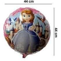 Globos De Princesa Sofia - 45 Cm