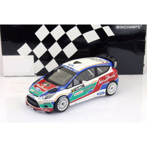 Ford Fiesta Rs Rally Abu Dhabi 2011 1/18 Minichamps