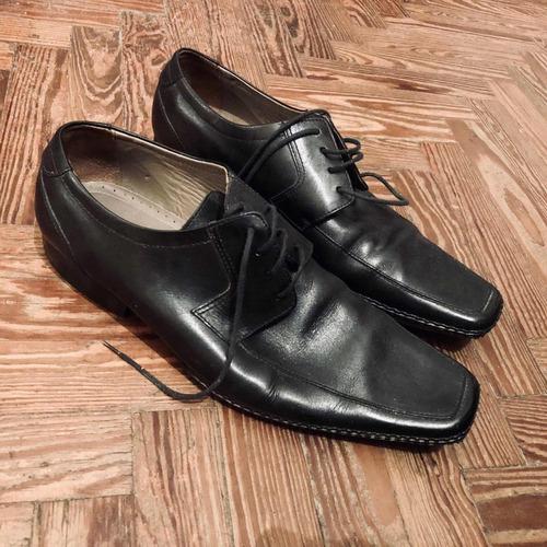 b1bf6dff Zapatos De Cuero Zara Man Talle 45 Hombre Muy Poco Uso
