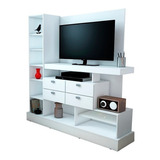 Modular Rack Tv 126 Mosconi Mueble Para Tv / Led 55'