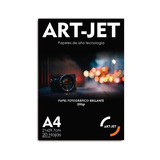 Papel Glossy Foto Fotográfico A4 200gr X 500 Hojas Art-jet