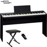 Piano Electrico Roland Fp30 88 Teclas + Mueble + Banqueta