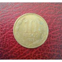 Moneda 10 Pesos Chilenos 1993