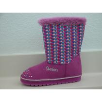 Botas Niñas Con Luces Skechers !!! Originales !!!