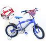 Bicicleta Top Mega Cross Varon Junior Rodado 16