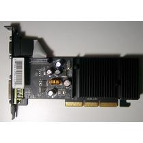 Placa De Video Agp Geforce 6200 256mb En Quilmes!