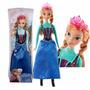 Muñeca Ana Frozen Hermosa Original Mattel