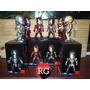 Iron Man Set X 6 Kids Nations Con Luz Ojos Y Pecho