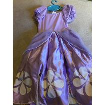 Vestido Princesa Sofía Original Disney Store Importado En