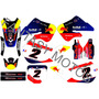 Calcomanias Honda Cr 125- 250 Año 98-99 Red Bull