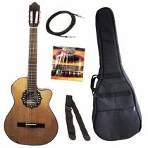 Fonseca 39 Kec Guitarra Electro - Criolla + Accesorios!!!
