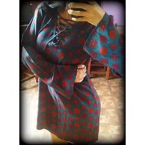 Camisola/blusa/vestido Manga Oxford/bambula/crema