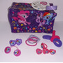 My Little Pony Cartuchera Porta Cosmeticos Con Accesorios