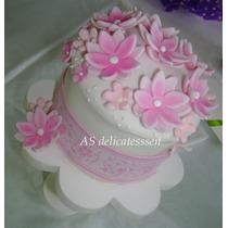 Mini Torta-souvenirs-comunion-cumpleaños Infantiles-15 Años