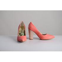 Zapato Stiletto Mujer Luis Xv Linea Folia